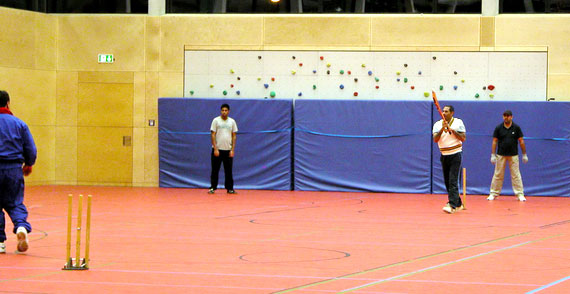 Samstagstraining in der Halle